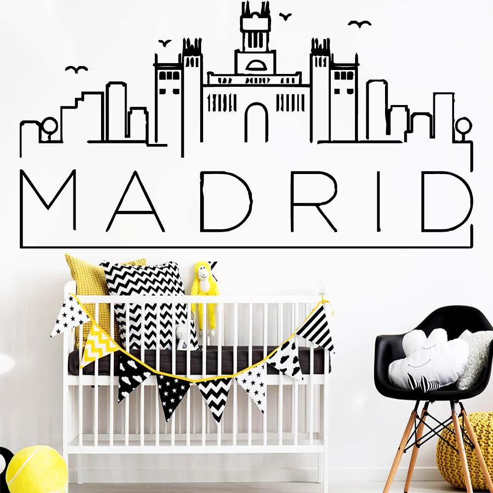 Venta caliente Madrid Arte Vinilo Pegatinas de Pared ...