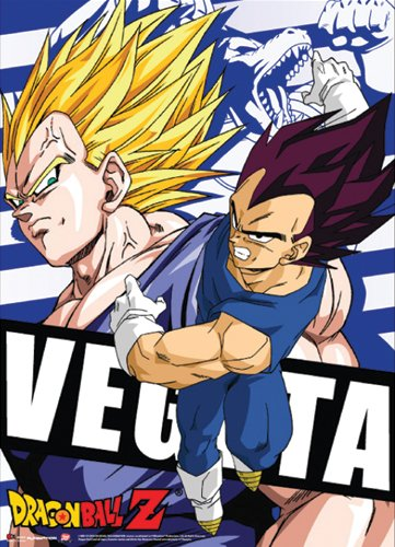 Great Eastern Entertainment Dragon Ball Z Vegeta Wall Scroll