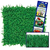 Green Grass Tissue Mats Party Accessory