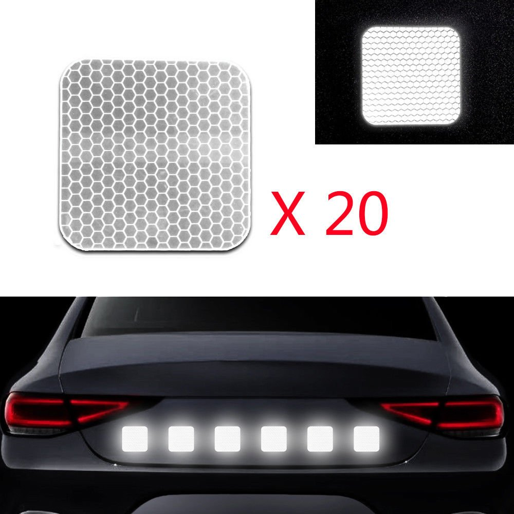 Car Reflective Tape Truck Trailer Bicycle Boat Warning Reflector Security New