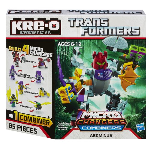 KRE-O Transformers Micro-Changers Combiners Abominus Construction Set - Combiners Transformers Kreo
