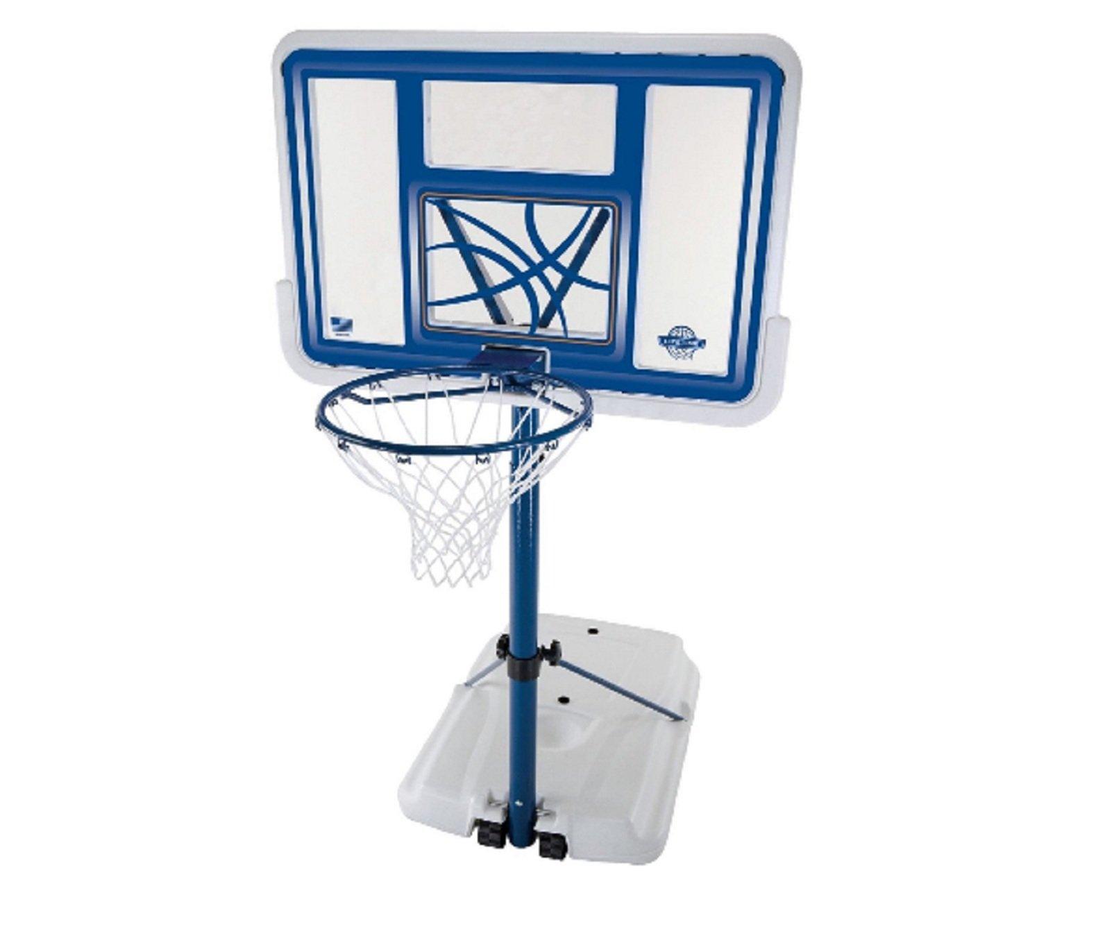 Pool Basketball Hoop Water Goal Net Backboard Poolside