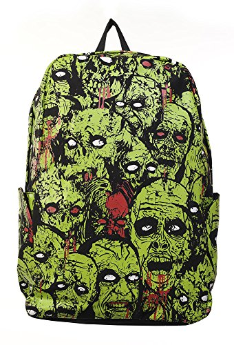 Banned Zombie Backpack – Black Green One Size