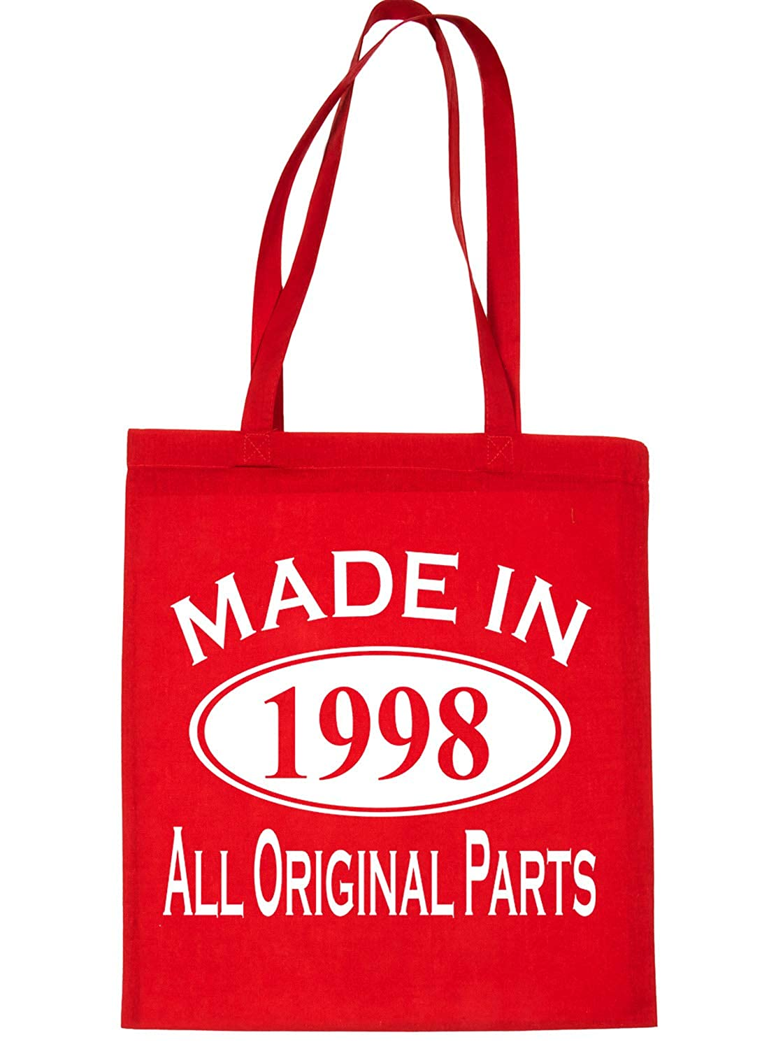 Print4u Shopping Tote Bag For Life Born In 1998 21st Birthday