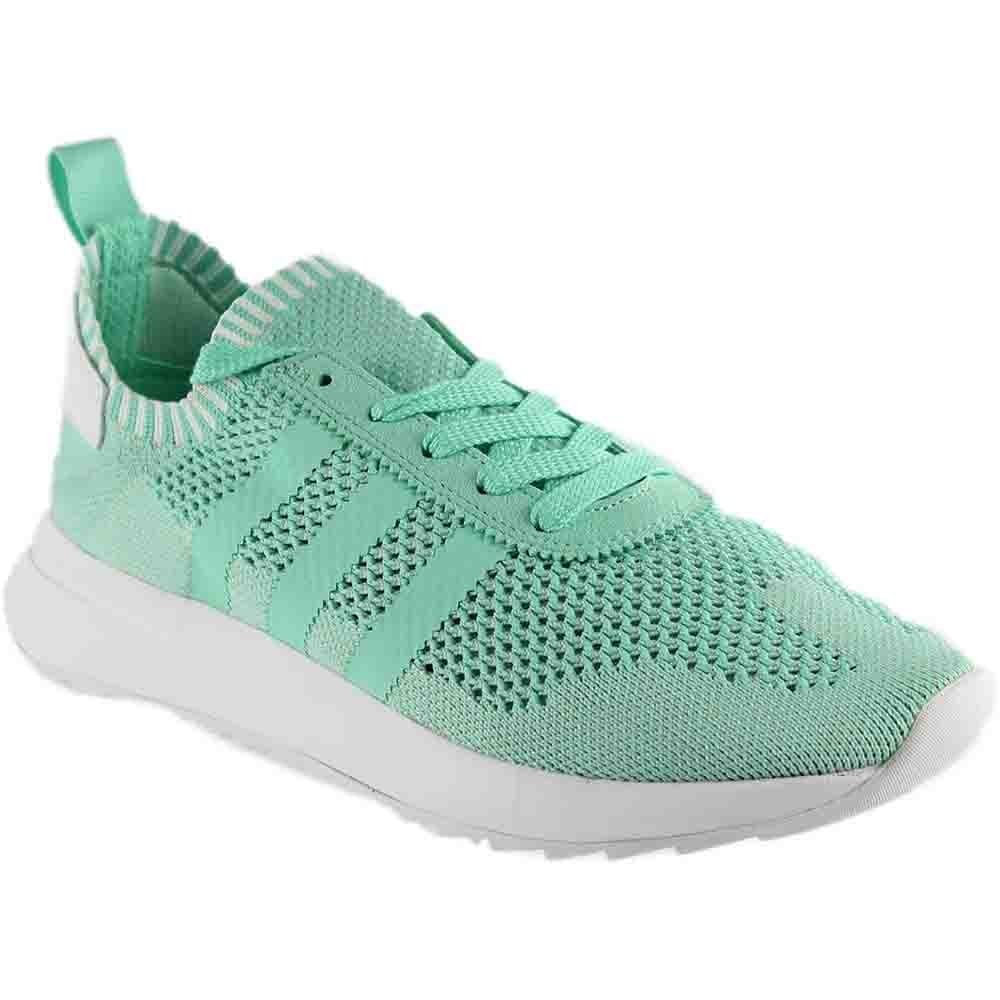 adidas Women's Flashback W PK Originals Running Shoe B06XYP38SF 8 B(M) US|Green / White
