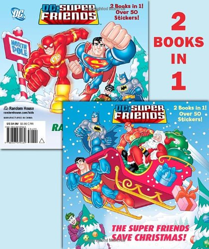 Christmas Comics - The Super Friends Save Christmas/Race to the North Pole (DC Super Friends) (Pictureback(R))