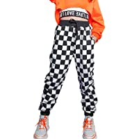 Niñas Hip Hop Streetwear Pantalones Dance Joggers Niños Pantalones Deportivos con cordón