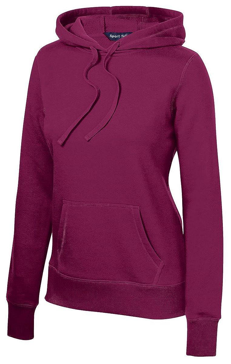 LST254 Sport-Tek Ladies Pullover Hooded Sweatshirt