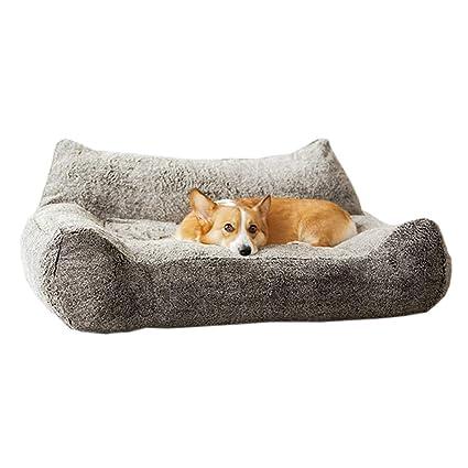 Cama perro Cama XL para Perros, sofá ortopédico con cojín extraíble y Gruesa para Mascotas