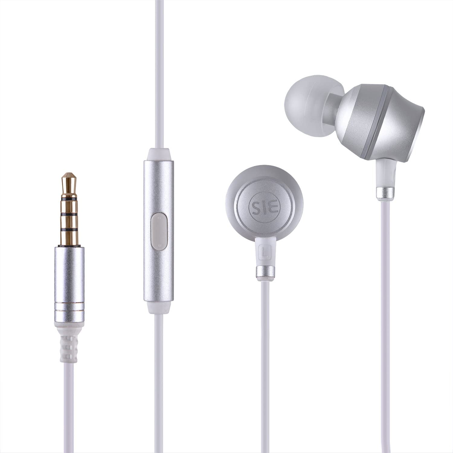 Amazon Com Only 100 Available Sie Wired 3d 5 1 Channel Ultra Bass Home Theatre Level Surrounding Sound In Ear Earphones Best For Mobile Device Music Enthusiasts Silver Home Audio Theater