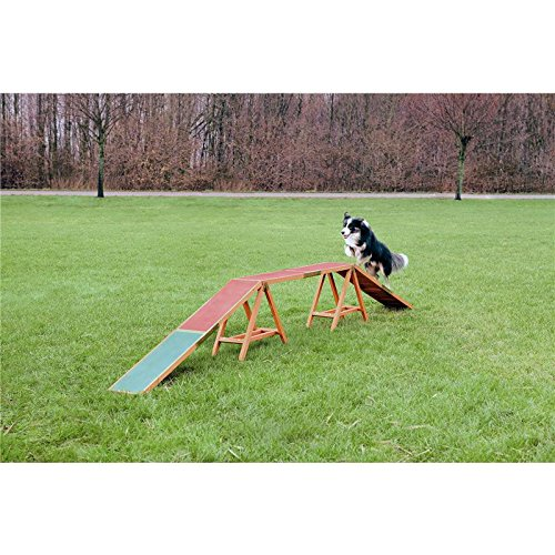 Image of Trixie Activity Dogwalk Dog Agility, 456 × 64 × 30 Cm Pet Supplies