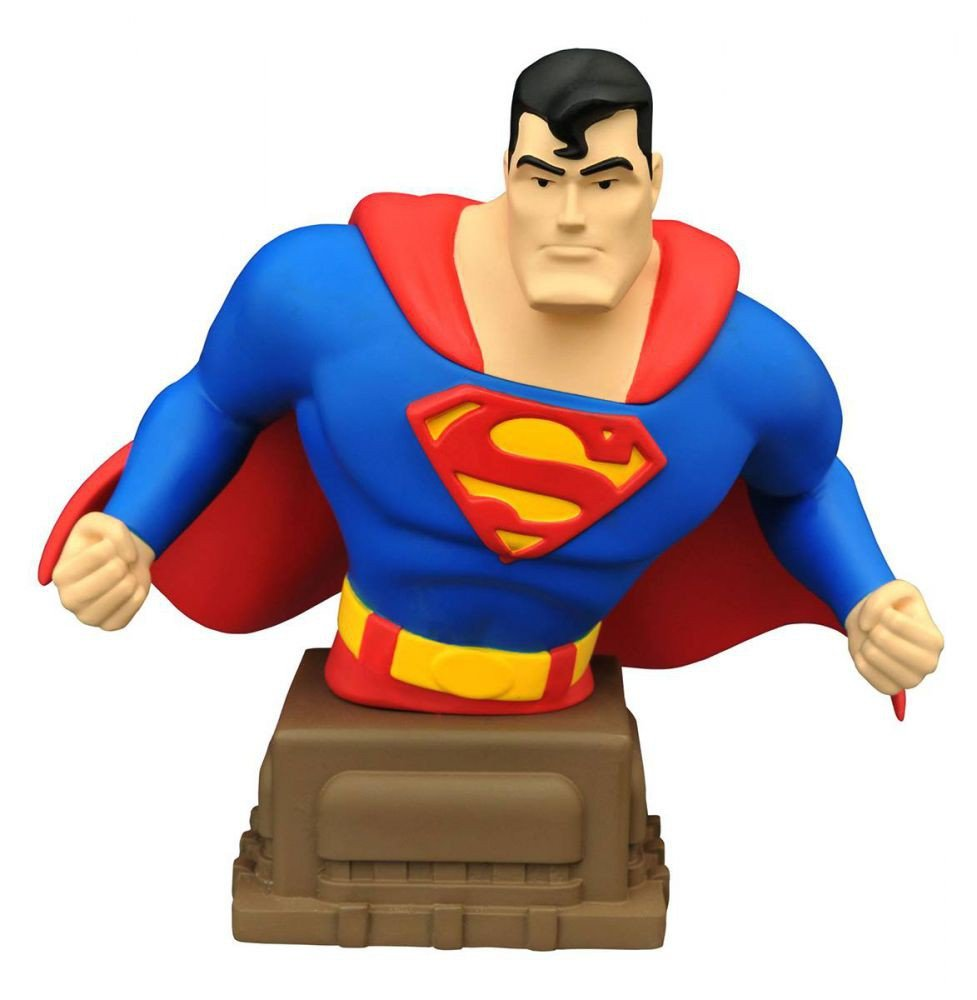 The Animated Series Diamond Select Toys Superman Superman Resin Bust Diamond Comic Distributors NOV152179