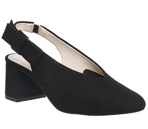 7de2377889e Office Magical Bow Slingback Heels  Amazon.co.uk  Shoes   Bags