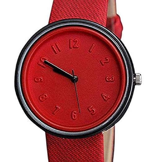 Relojes de Cuarzo para Mujer, Relojes de señora de la Manera análogos únicos de la