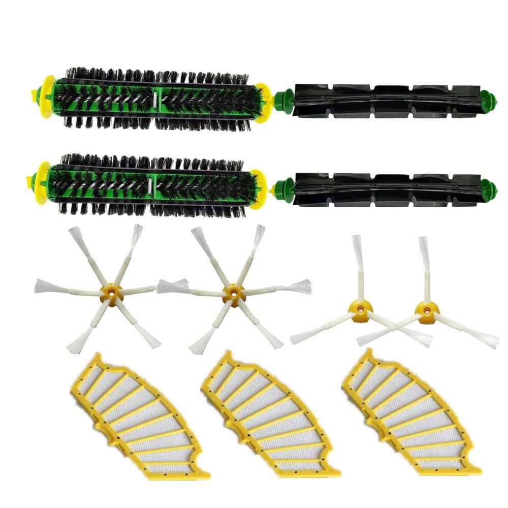 LOVE(TM)Bristle & Flexible Beater Brush Armed Filter kit for Robot 500 Series Vacuum Cleaner 510 520 530 540 550 560 570 610