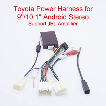 Amazon.com: Bestycar Car Radio Stereo Power Harness Wiring for Toyota  Corolla Highlander USB Cable CANBUS Decoder for 9/10.1'' Head Unit CD  Player Support JBL Amplifier OEM Camera Steering Wheel Control USB: HomeAmazon.com