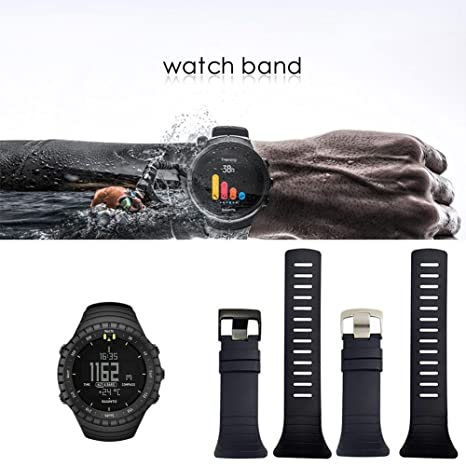 Auto Echo para Suunto Core Watchband Replacement Black Negro Reloj ...