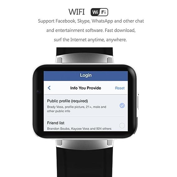 chengstore 3 G Bluetooth Smart reloj dm98 2.2
