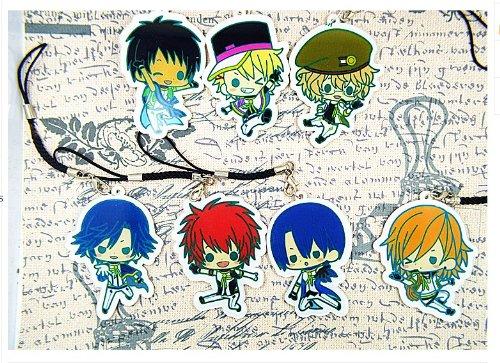 Uta No Prince Sama Nanami Haruka Costume Anime Keychain Key Ring Rare New Japanese 11pcs/set