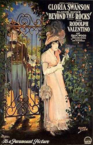 Beyond the Rocks Advertisement Movie 11 x 17 Inches - 28cm x 44cm Rudolph Valentino Gloria Swanson Edythe Chapman Alec B. Francis Robert Bolder Gertrude Astor June Elvidge