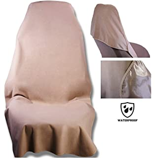 - The Original Removable Auto Car Seat Cover Spills Guards Leather or Fabric from Sweat Black Soft Odor-Proof Sand and mud Waterproof SeatShield UltraSport Seat Protector Food