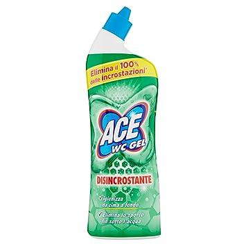 ACE Limpiador WC Gel, Desincrustante, 700 ml 1 Pezzo: Amazon.es: Salud y cuidado personal