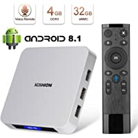 HAOSIHD AI ONE Smart Android 8.1 TV Box with Voice Remote Control