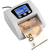 JeVx Maquina Detector y Contador de Billetes Falsos Automatico Introduce el Billete en Cualquier Posicion Comercial de…