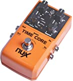 Twinbuys NUX Time Core Guitar Effect Pedal 7 Delay Models True Bypass