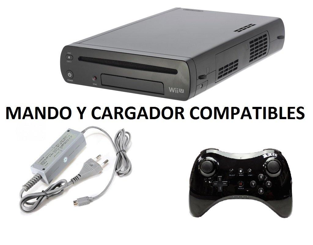 Videoconsola Consola Nintendo Wii U Modelo WUP-101(03) + ...