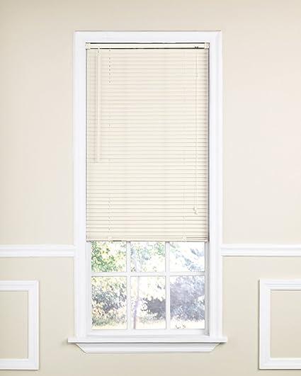 1 inch vinyl mini blinds room darkening radiance 1827065 indoor vinyl mini blind 70inch wide by 64inch amazoncom