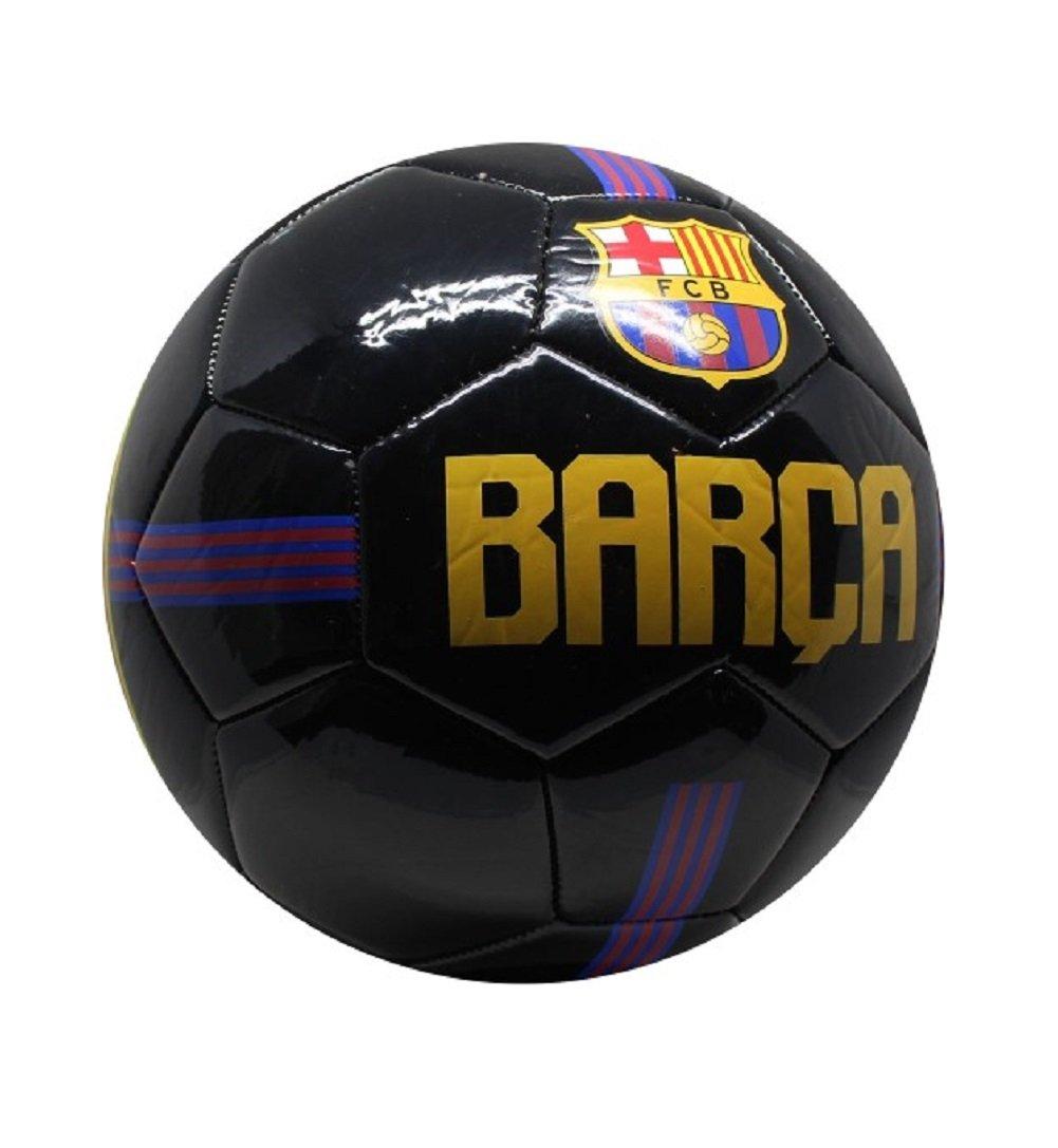 FC Barcelona Balón, color negro, tamaño 5: Amazon.es: Deportes y ...