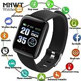 Relógio Inteligente D13 SmartWatch Monitor Cardíaco Monitor Sono Pressão Sangue modo exercicio iOS Android
