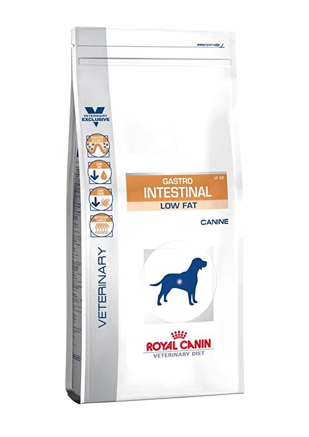 ROYAL CANIN Alimento para Perros Gastro Intestinal Low Fat LF22-6 kg: Amazon.es: Productos para mascotas