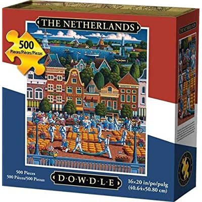 Dowdle Jigsaw Puzzle - Netherlands - 500 Piece: Toys & Games