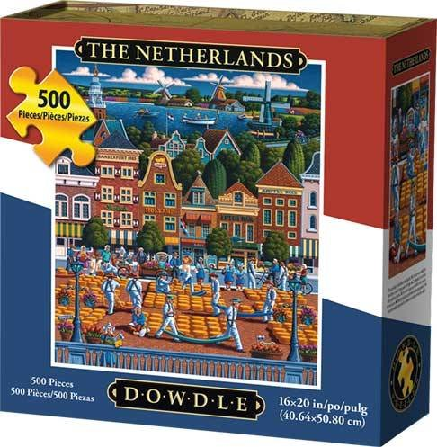 Dowdle Jigsaw Puzzle - Netherlands - 500 Piece