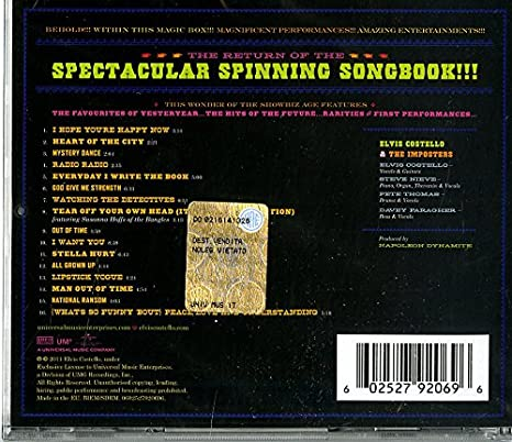 The Return Of The Spectacular Spinning Songbook: the return ...
