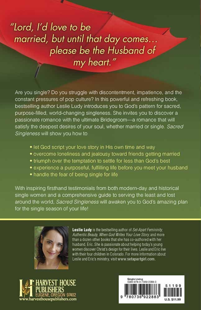 Sacred Singleness: The Set-Apart Girl's Guide to Purpose and