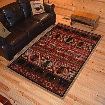 Amazon Com Rug Empire Rustic Lodge Southwest Southwestern