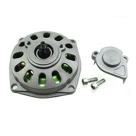 tc-motor 25H 6 dientes Embrague Gear Box Caja de cambios de tambor para 47 cc ...
