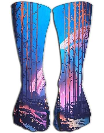 Amazon.es: Calcetines - Ropa de compresión: Deportes y aire libre
