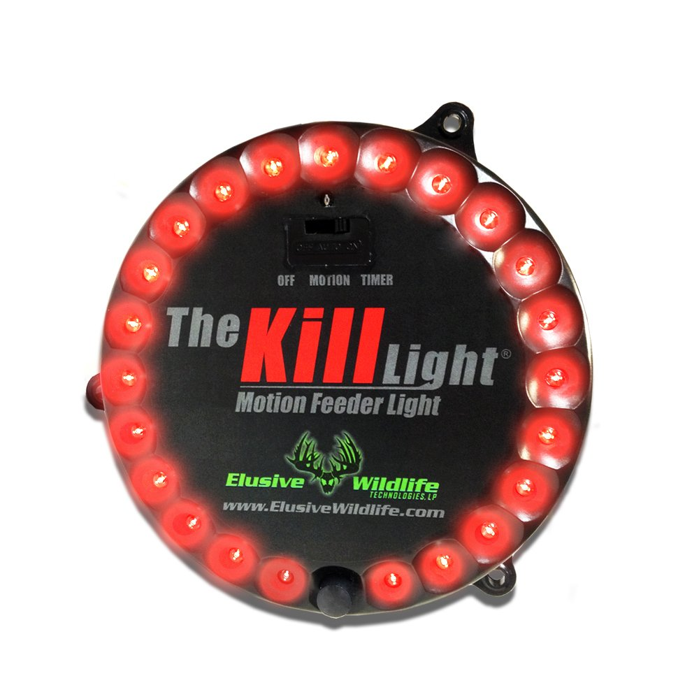Elusive Wildlife The Kill Light Motion Activated Feeder Light - Red by Elusive Wildlife