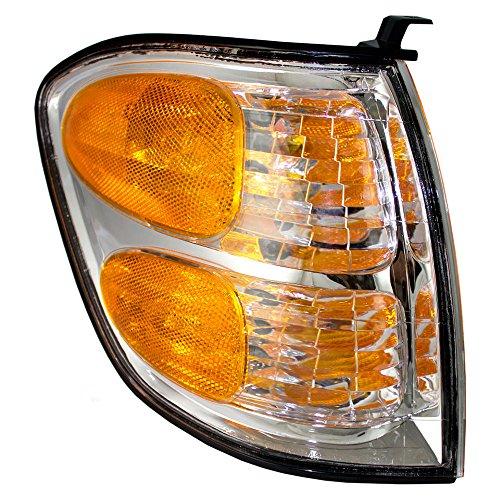 al Corner Marker Light Lamp Replacement for Toyota SUV Pickup Truck 815100C020 ()