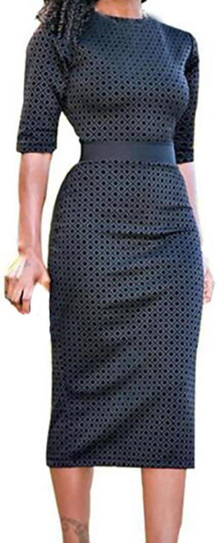 Vestido de cóctel para mujer con falda plisada y mangas con dibujo ...