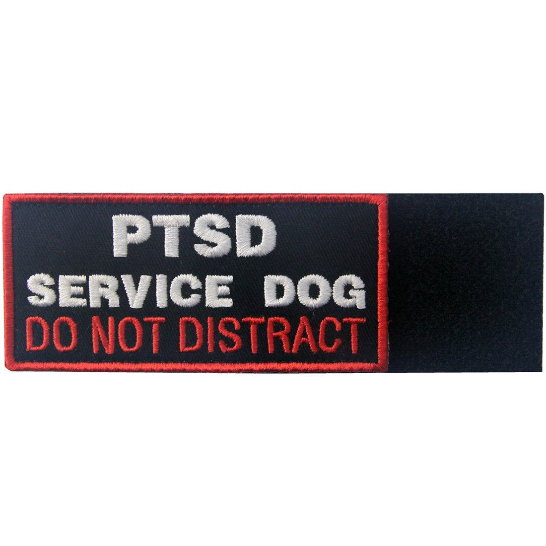 Service Dog Working Do Not Touch Vests//Harnesses Emblem Embroidered Fastener Hook /& Loop Patch