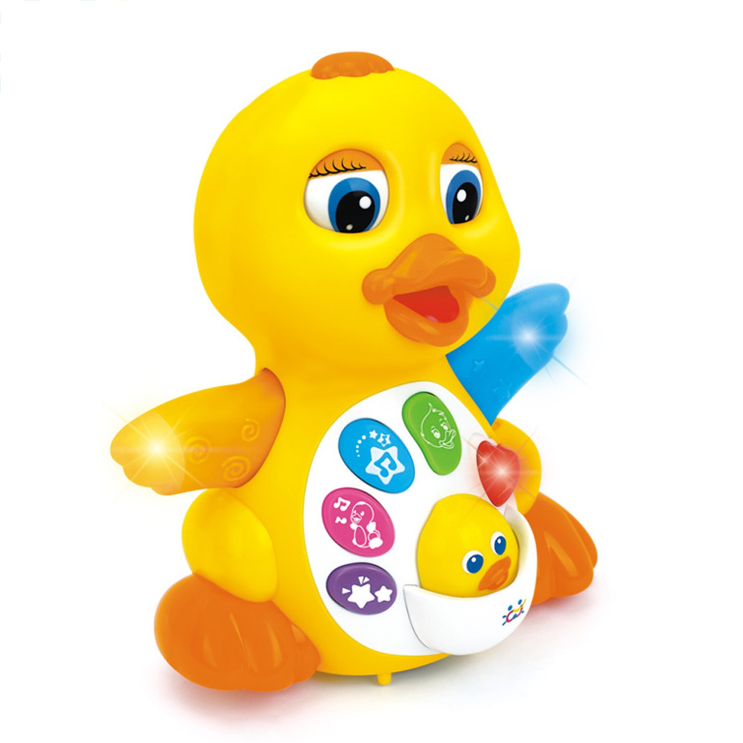 Amazon Huile Musical Flapping Duck Educational Toddler Toy