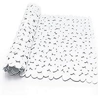 Alfombra Bañera Antideslizante con Ventosa Resistentes al Moho Lavables a Máquina Infantiles Alfombrillas para Bañera 88…