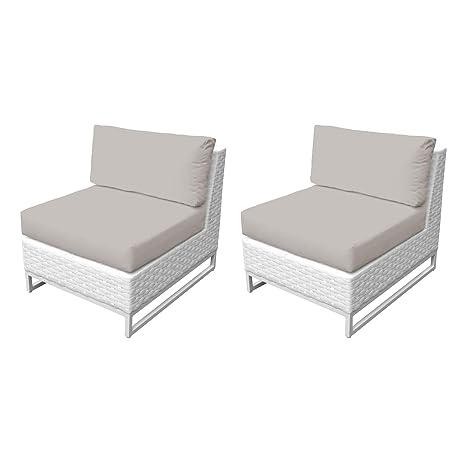 Amazon.com: TK Classics TKC047b-AS-DB-BEIGE Miami Seating ...