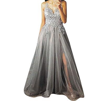 Vestiti Eleganti Donna Per Cerimonia.Odjoy Fan Abiti Da Sposa Cerimonia Vestiti Eleganti Abito Donna