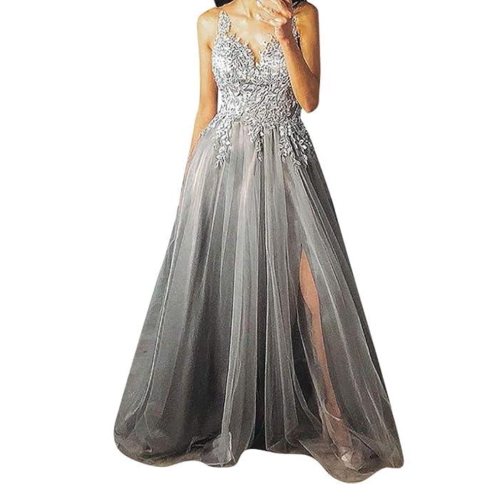 Los Angeles d1bb3 2757f ODJOY-Fan Abiti da Sposa Cerimonia Vestiti Eleganti Abito ...